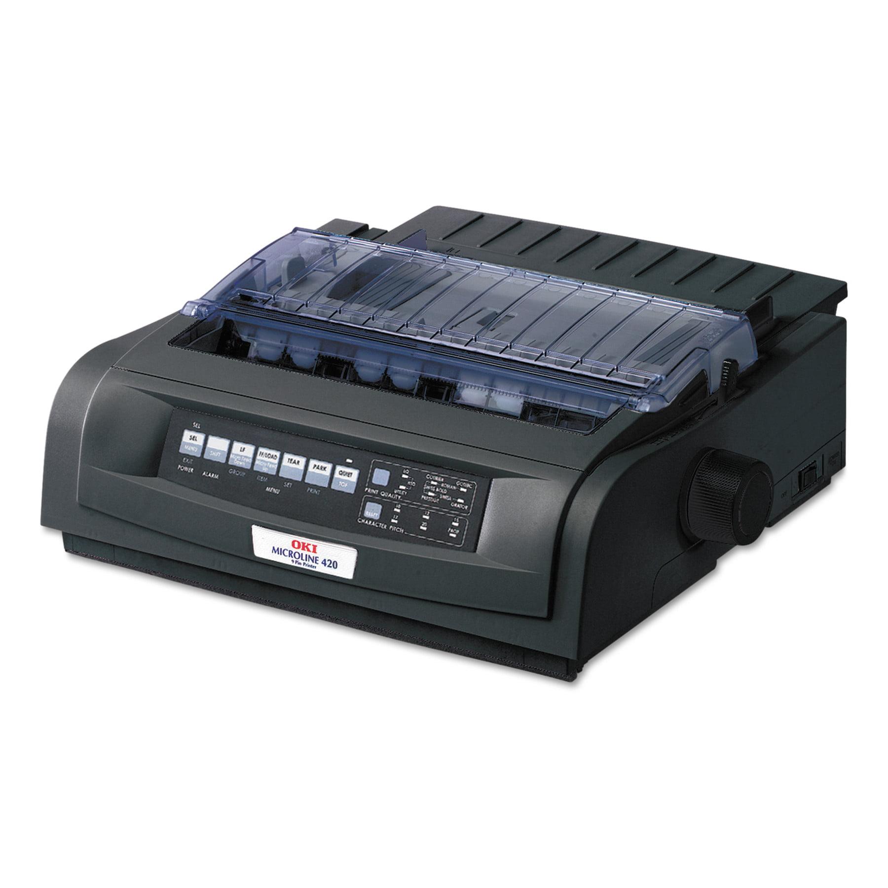 Oki Microline 420 Serial Narrow-Carriage 9-Pin Dot Matrix Printer