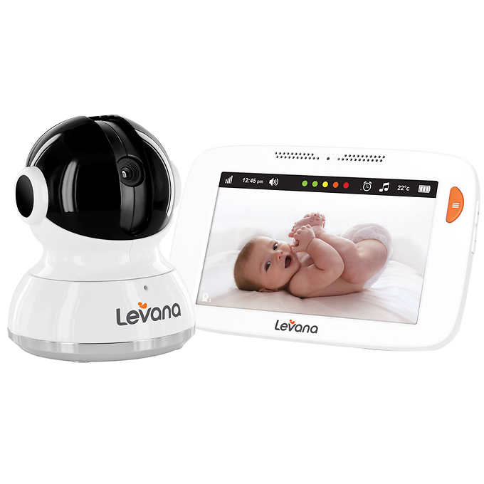 "LEVANA Mylo 5"" Touchscreen High Resolution PTZ Video Baby Monitor by Levana"