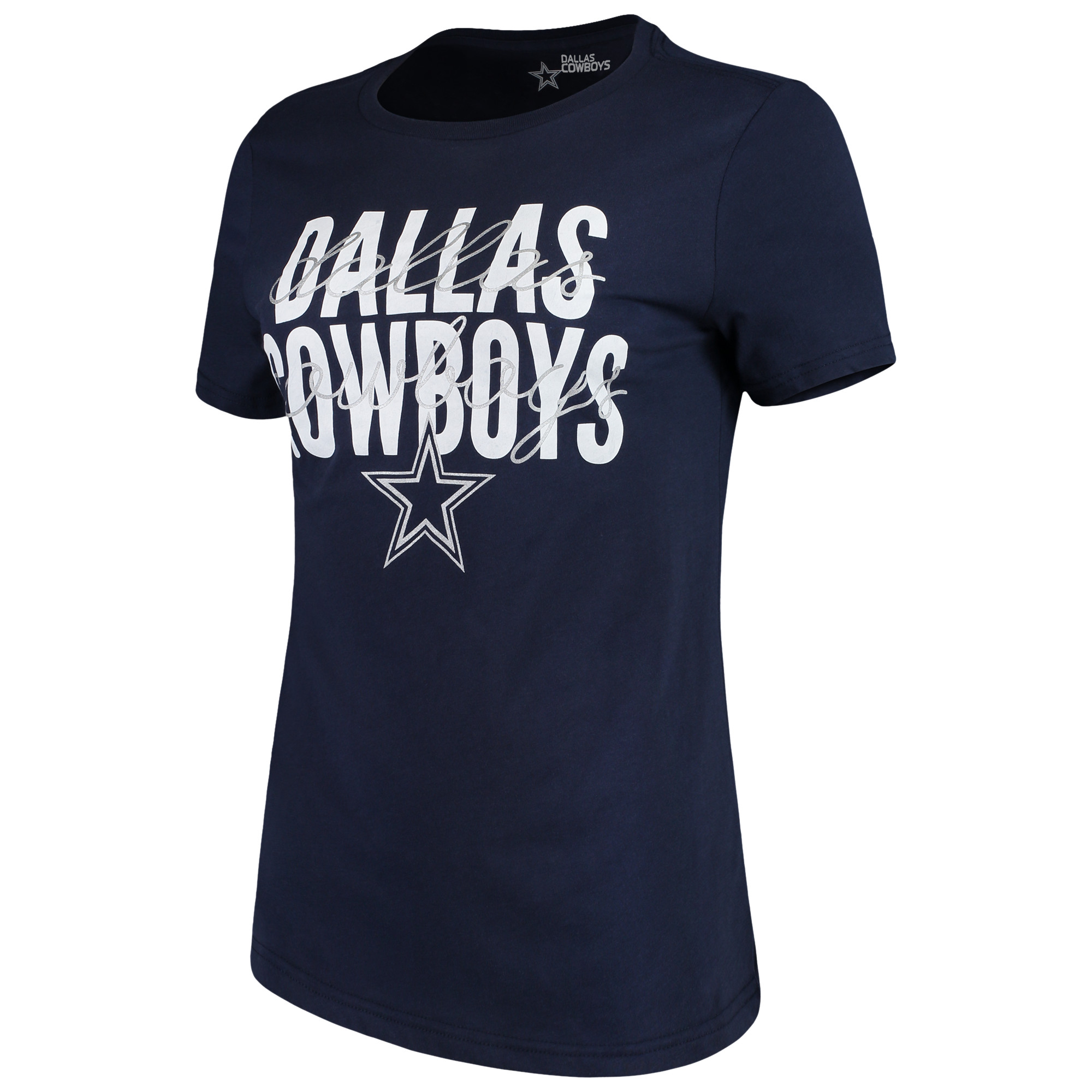 Women's Navy Dallas Cowboys Jaco T-Shirt