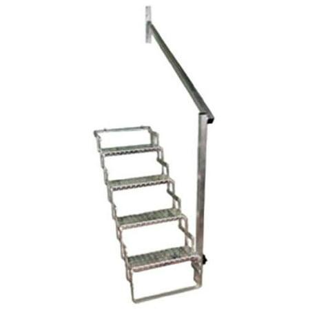 4 Step Scissor Step Hand Rail