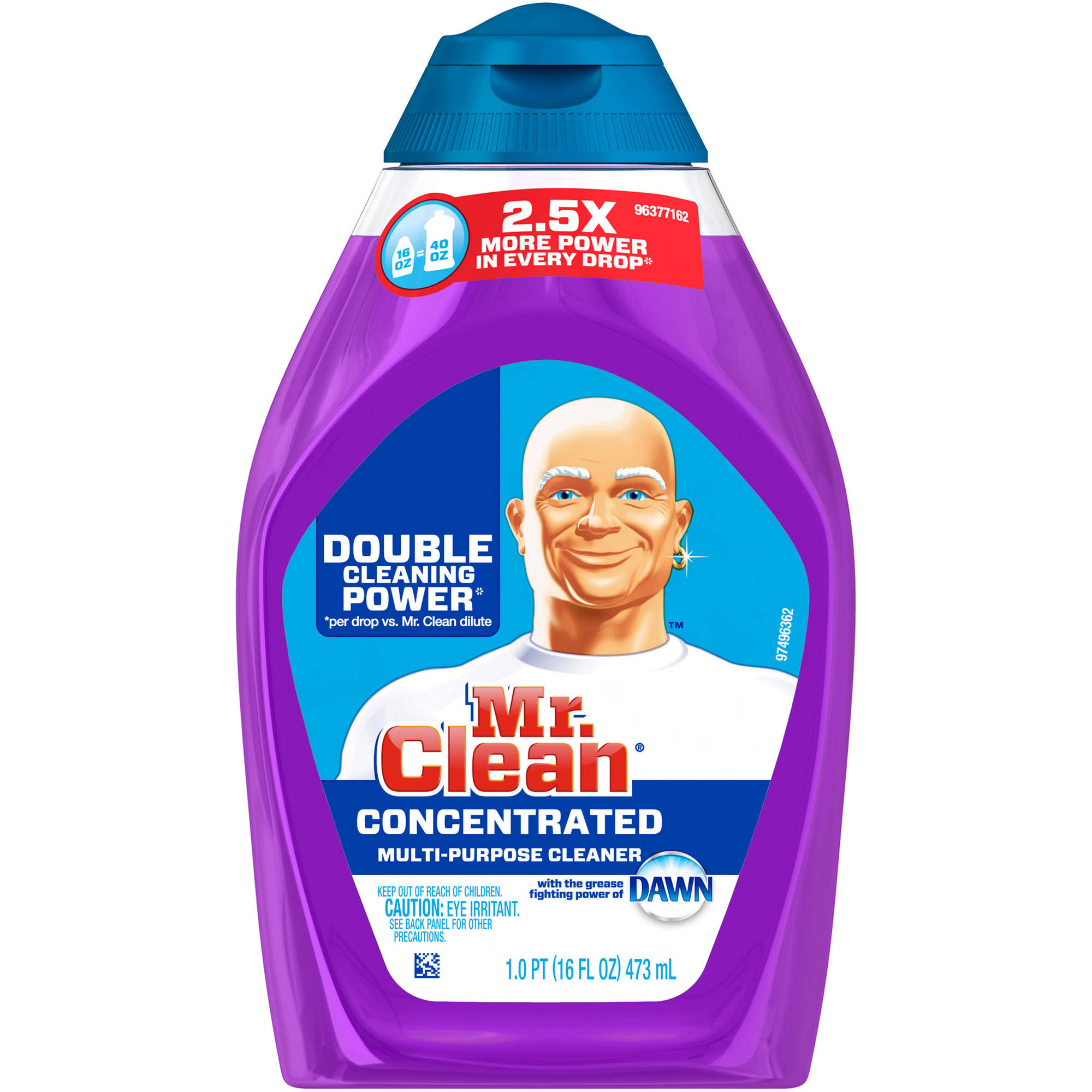 Mr. Clean Liquid Muscle All-Purpose Cleaner, with the grease fighting power of Dawn, 16oz.