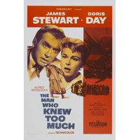 The Man Who Knew Too Much (1956) 11x17 Movie Poster