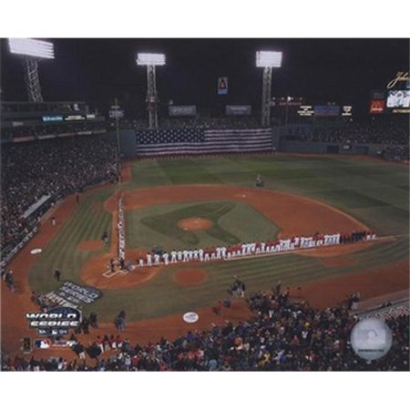 2004 World Series Opening Game National Anthem at Fenway Park  Boston Sports Photo - 10 x 8