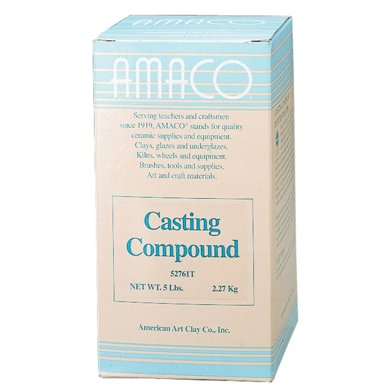 Amaco Plaster Casting Compound, 5 lb.