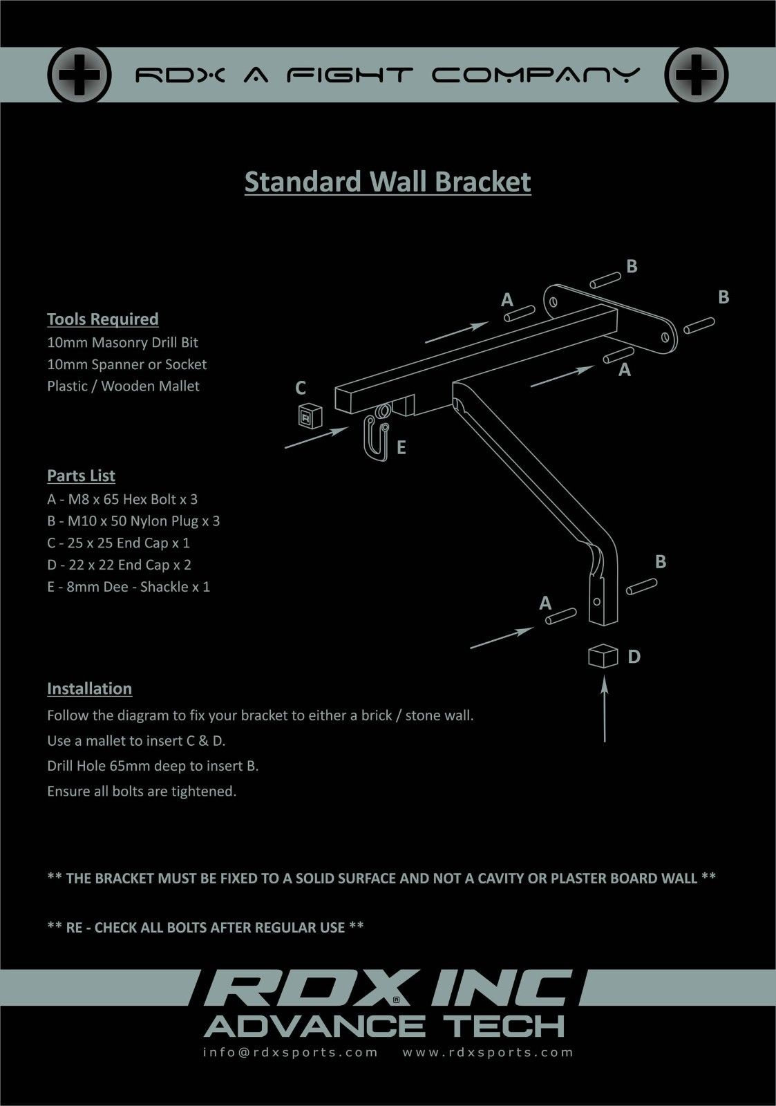 Heavy Duty Punching Bag Wall Bracket 4 Chains Steel Mount Hanging Stand US New for Sport