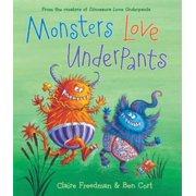 Monsters Love Underpants - eBook