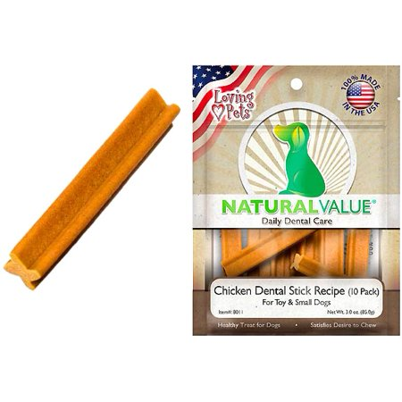 Loving Pets Natural Value Chicken Dental Stick Recipe
