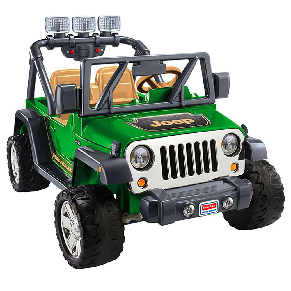 Power Wheels Deluxe Jeep Wrangler 12 Volt Ride On