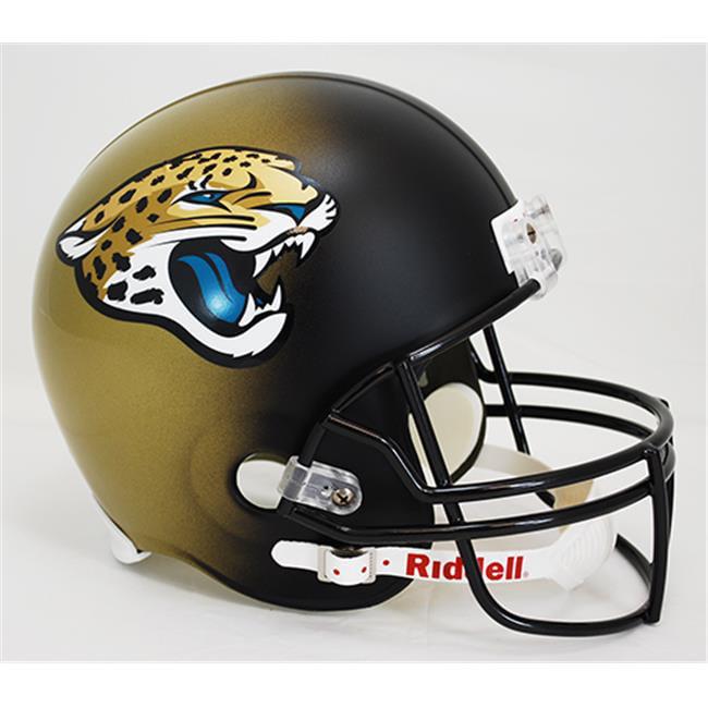 Creative Sports Enterprises RD-JAGUARS-R-2013 Jacksonville Jaguars Riddell Full Size Deluxe Replica Football Helmet