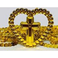 72 Cross Christening Communion Gold Color Embellishment Favors Motive Acrylic Confetti Gift Spread Table Decoration