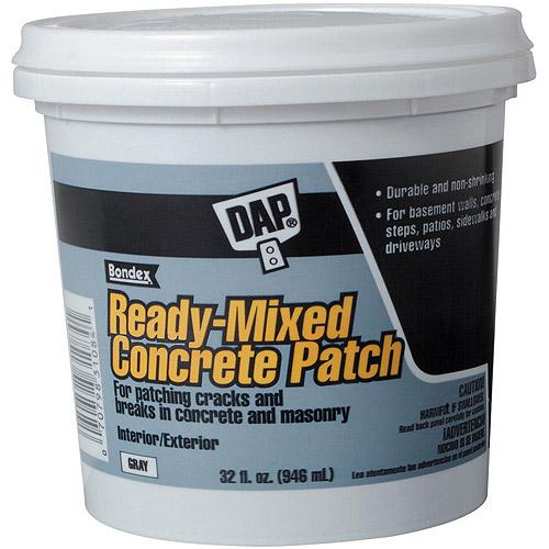 Dap 31084 1-Quart Concrete Patcher Interior and Exterior