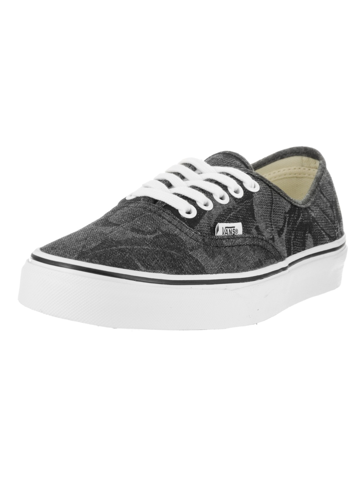 Vans Unisex Authentic (Chambray Leaves) Skate Shoe