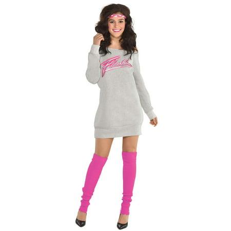 Flashdance Dress Adult Costume - Flashdance Costumes