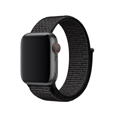Original Apple Watch 38mm BAND ONLY for Nike+ (Black Nylon) - Limited Edition ()