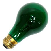 Halco 101152 - A19GRN25T Standard Transparent Colored Light Bulb