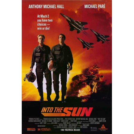 Into the Sun Poster Movie 27 x 40 In - 69cm x 102cm Anthony Michael Hall Michael Pare Terry Kiser Deborah Maria Moore - Maria Brink Halloween