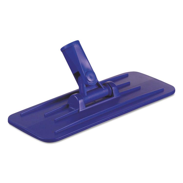 Boardwalk Swivel Pad Holder, Plastic, Blue, 4 X 9, 12/carton