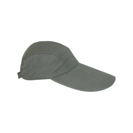 Size one size Cotton Long 5 Inch Bill Visor Baseball Cap