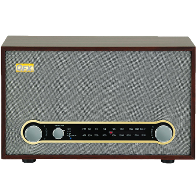 QFX RETRO-100 Retro Bluetooth AM/FM Desk Radio