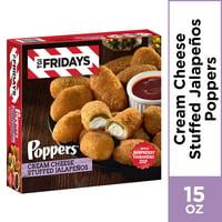 T.G.I Fridays Poppers Cream Cheese Stuffed Jalapenos, 15 oz Box