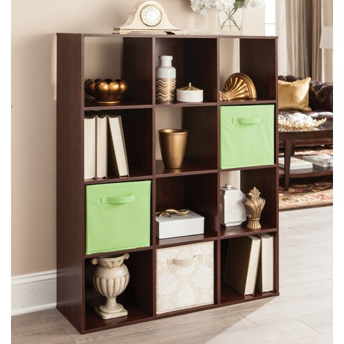 ClosetMaid 12-Cube Organizer, Dark Cherry
