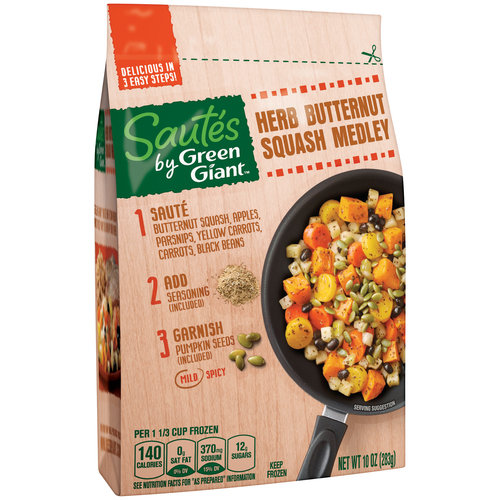 Sautes by Green Giant Herb Butternut Squash Medley, 10 oz