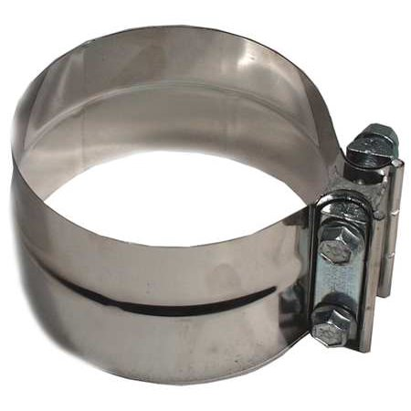 FIVE STAR 300400 Exhaust Clamp, Min.Dia.4 In. (Royal Star Exhaust)
