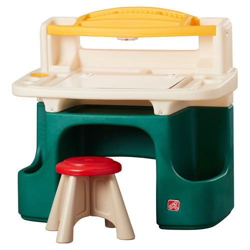 Step2 Art Master Activity Desk In Green Walmart Com