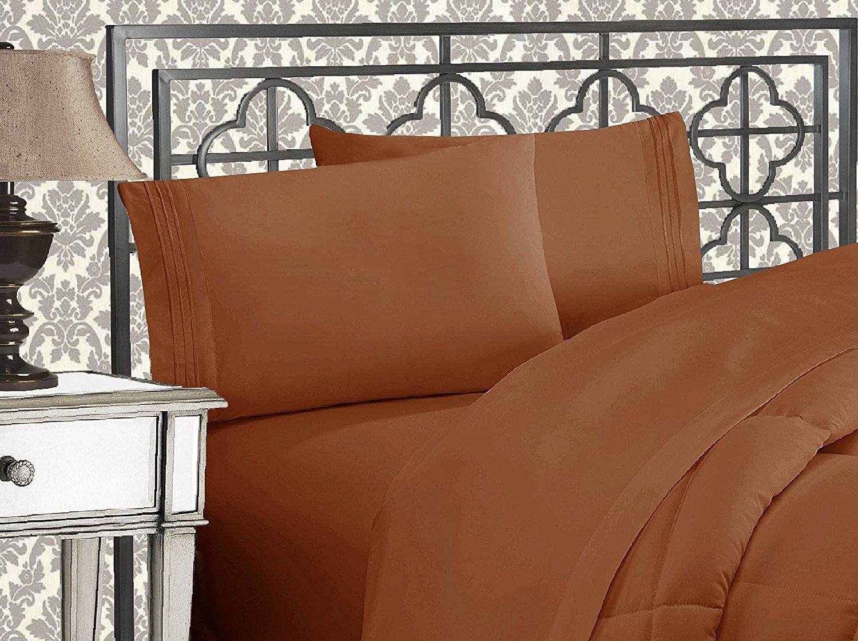 Elegant Comfort 174 Silky Soft 1800 Series Wrinkle Free 4