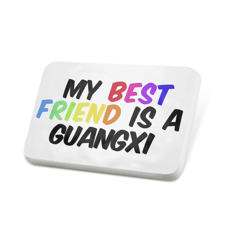 Porcelein Pin My best Friend a Guangxi Baise Horse Lapel Badge – NEONBLOND