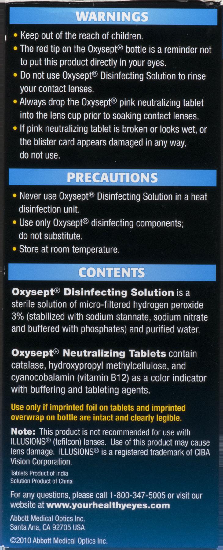 Oxysept ultracare formula disinfection system 120 fl oz oxysept ultracare formula disinfection system 120 fl oz walmart nvjuhfo Choice Image