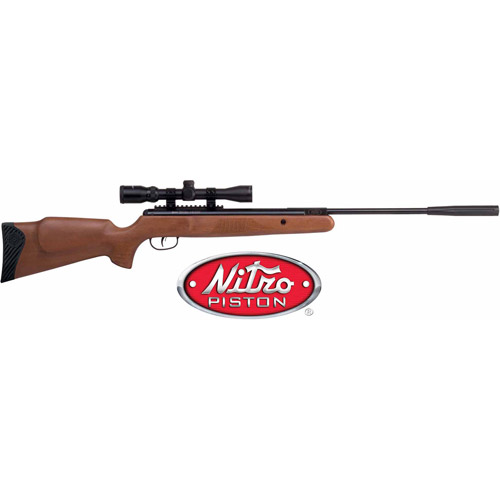Crosman Nitro Venom NP .22 Caliber Break Barrel Air Rifle with Scope by Crosman Corporation