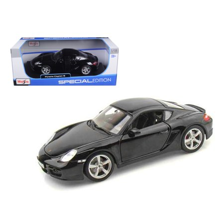 Porsche 928s4 - Porsche Cayman S Black 1/18 Diecast Model Car by Maisto