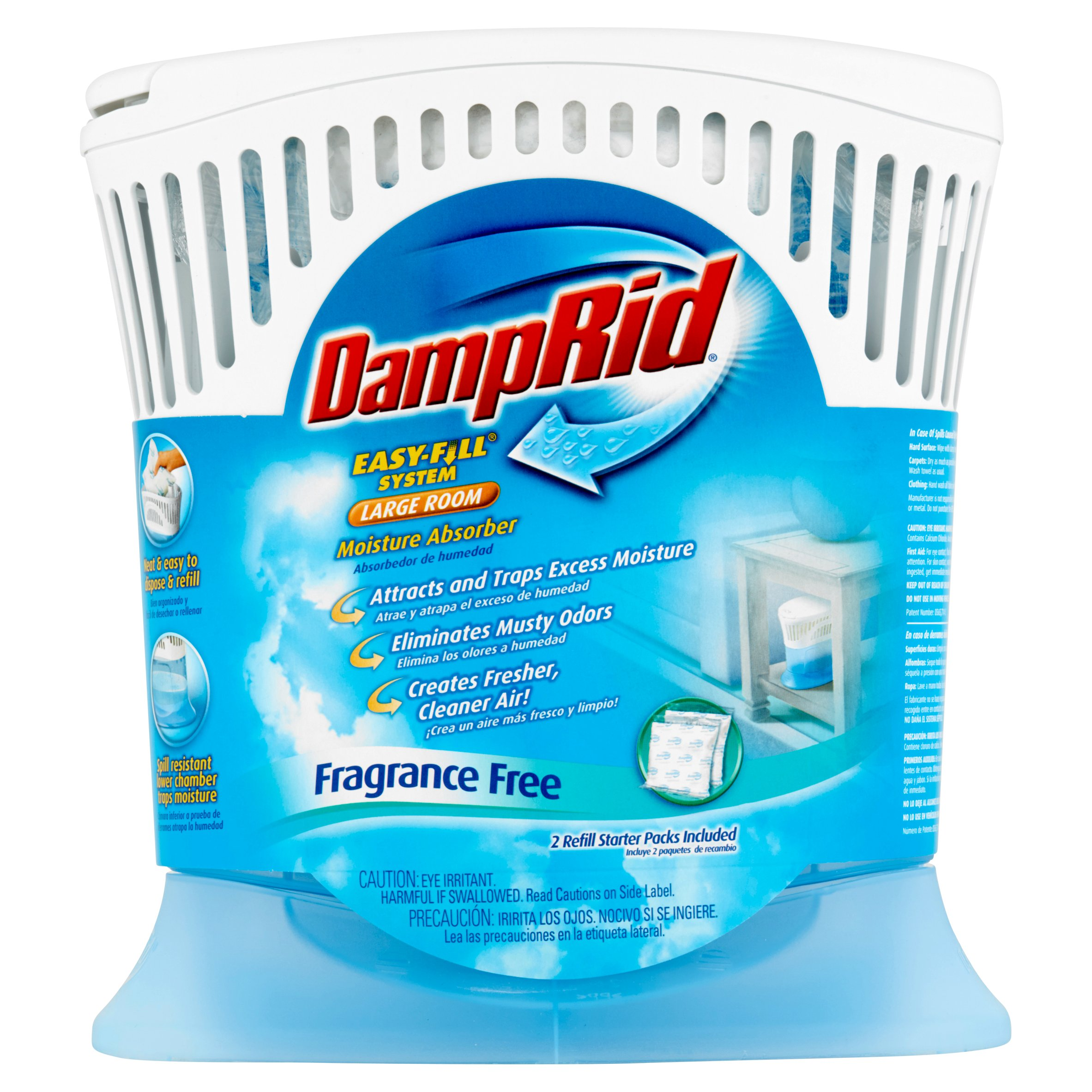 Wonderful DampRid Easy Fill System Large Room Moisture Absorber