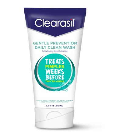 Clearasil Gentle Prevention Daily Clean Face Wash, 6.5oz, Oil-Free