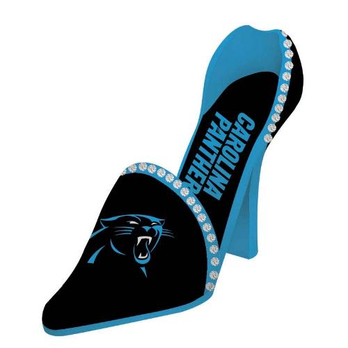 Team Sports America NFL Decorative Team Shoe 1 Bottle Tabletop Wine Rack