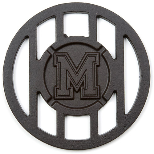 NCAA Grill Topper Hamburger Iron, University of Memphis Tigers