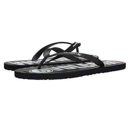 cb20445e0 Not branded - Volcom Mens Rocker Sandal Flip Flop (Black Top