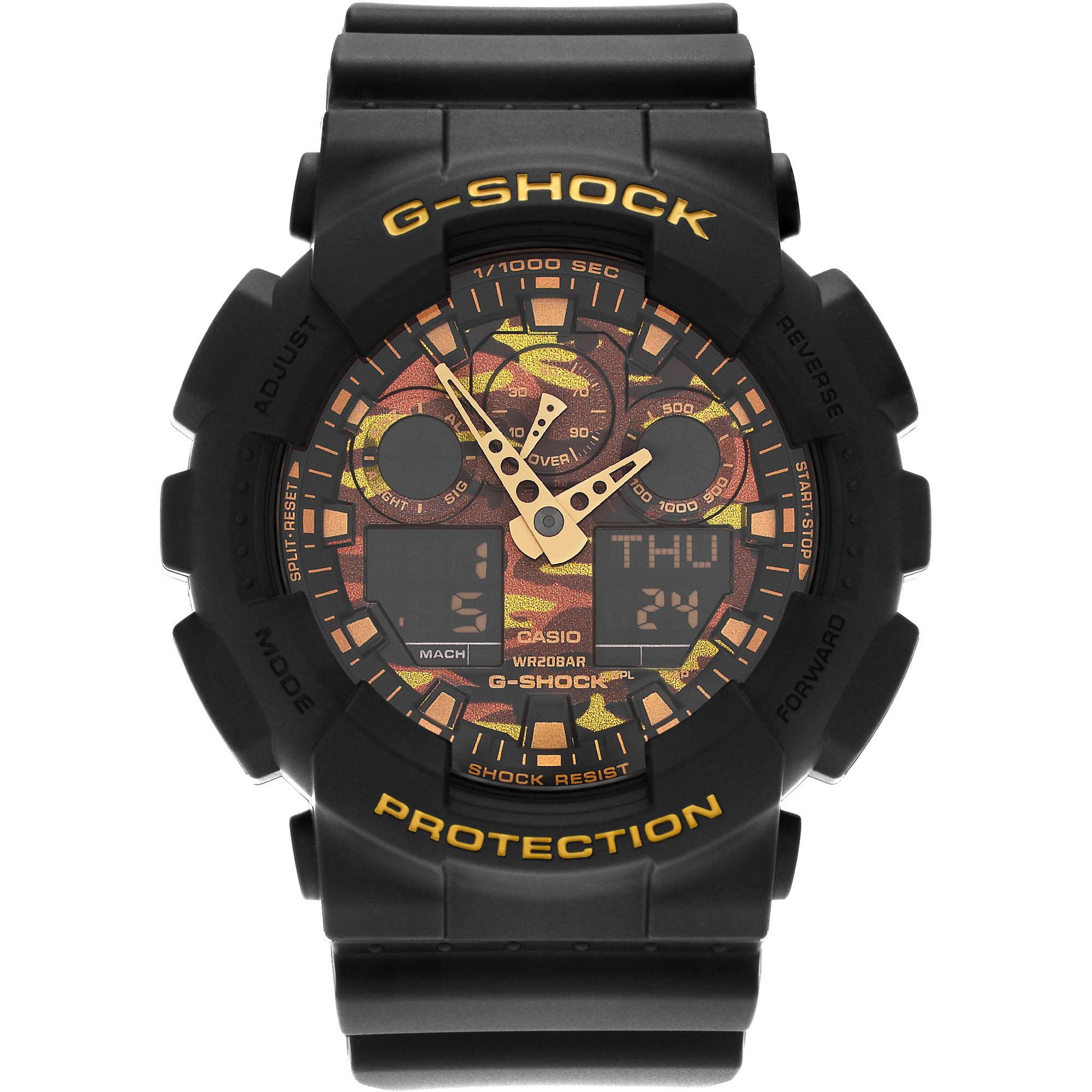 Casio Men's Stainless Steel Resin GA100CF-1A9 G-Shock Analog Digital Camo Dial Strap Dress Watch thumbnail
