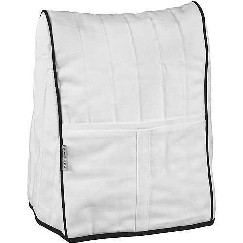 White Kitchenaid Mixer kitchenaid stand mixer cloth cover white - walmart