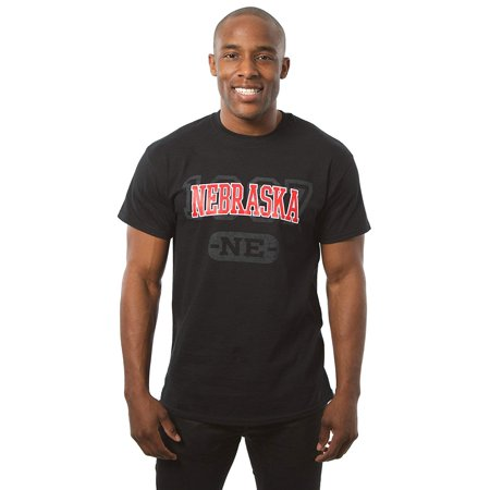 Nebraska Graphic - JH Design Nebraska T-shirt