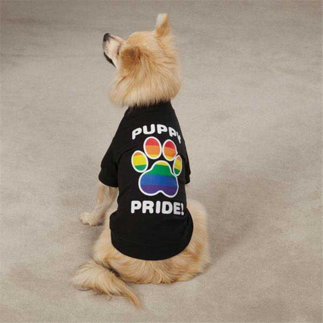 Casual Canine ZM304 14 17 Casual Canine Puppy Pride Tee S/M Black - image 1 of 1