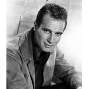 Charlton Heston C Mid 1950S Photo Print by Everett Collection