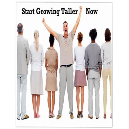 Start Growing Taller Now - eBook