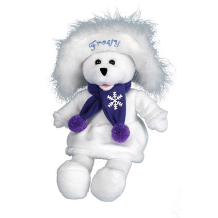 "PBC International Chantilly Lane 17"" Connie Talbot Frosty Bear Sings ""Frosty the Snowman"""