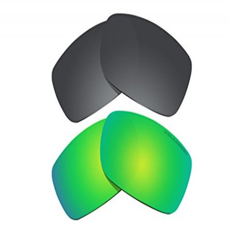 0b0291518c BVANQ - 2 Pairs Polarized Lenses Replacement Green   Black for ...