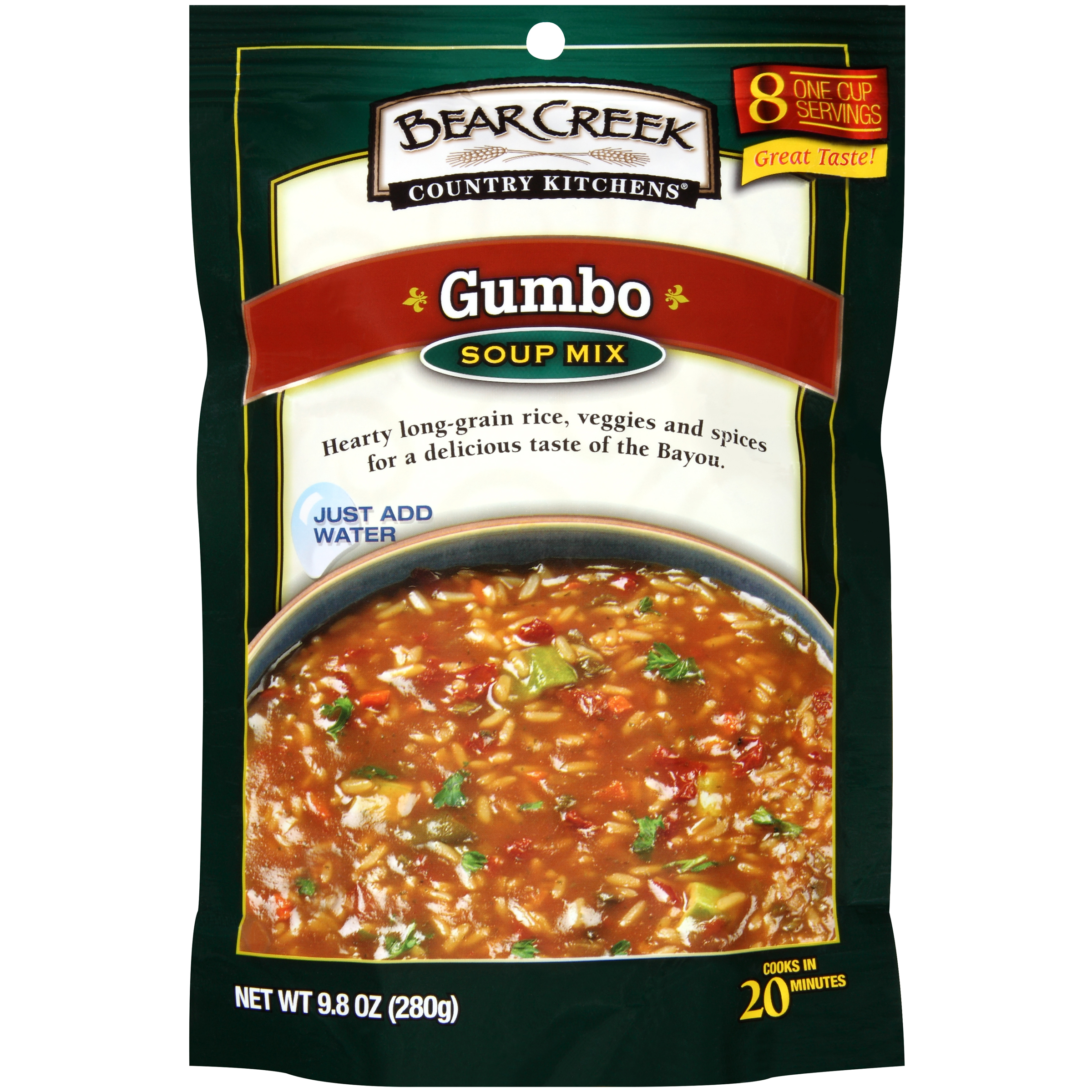 Bear Creek Country Kitchens: Gumbo Soup Mix, 9.80 oz by Bear Creek Country Kitchens