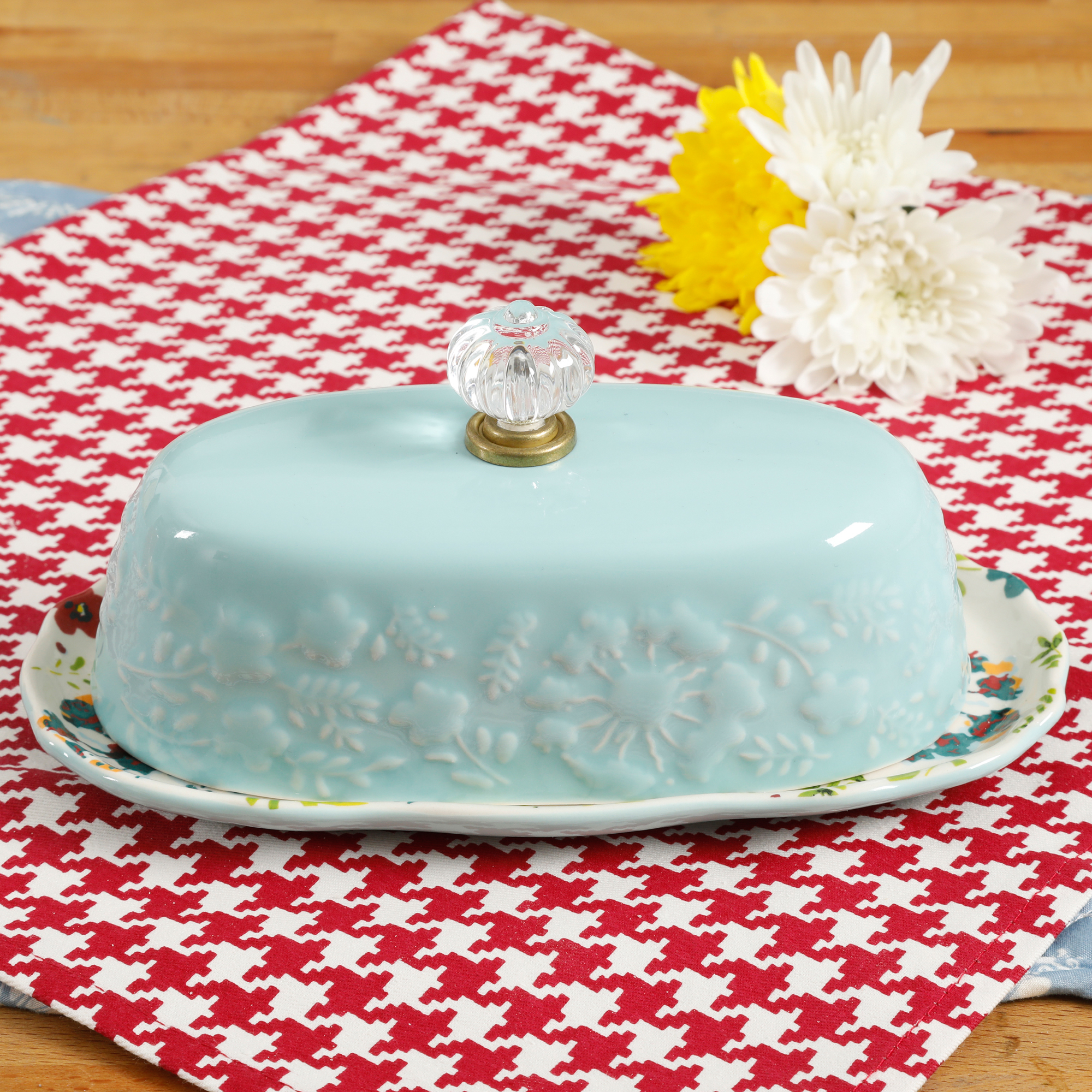 The Pioneer Woman Kari 8-Inch Butter Dish