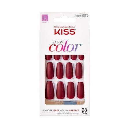 91284e57ebf KISS imPRESS® Press-on Manicure Oval – Next Wave – BrickSeek