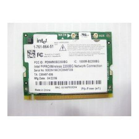 Sony VAIO PCG -7D2L Laptop Wifi Wireless Card- 1-761-864-51 - Refurbished (Sony Network Card)